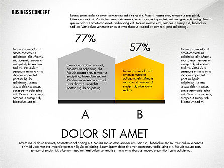 Split Testing Diagram Template, Slide 7, 03117, Business Models — PoweredTemplate.com