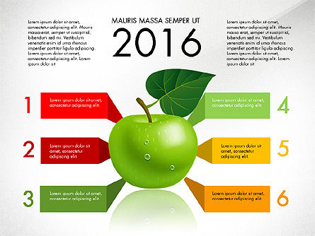 Infographics: Green Apple Infographics #03118