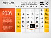 Planning Calendar 2016#10