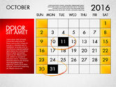 Planning Calendar 2016#11