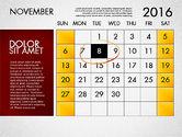 Planning Calendar 2016#12