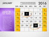 Planning Calendar 2016#2