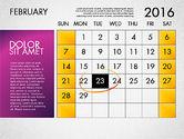 Planning Calendar 2016#3