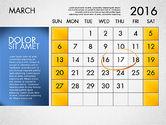 Planning Calendar 2016#4