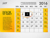 Planning Calendar 2016#8