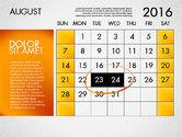 Planning Calendar 2016#9