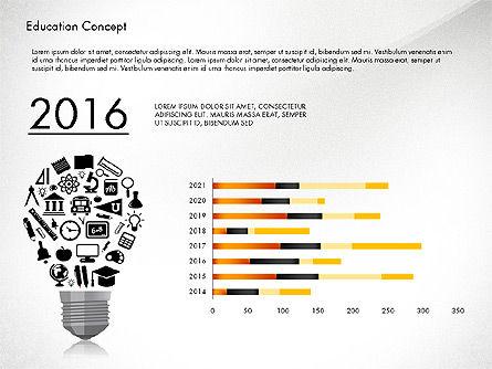 Idea Infographics Presentation Concept, Slide 3, 03121, Presentation Templates — PoweredTemplate.com