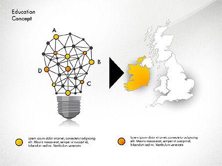Idea Infographics Presentation Concept, Slide 4, 03121, Presentation Templates — PoweredTemplate.com