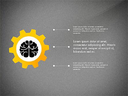 Smart and Airy Presentation with Shapes, Slide 15, 03122, Presentation Templates — PoweredTemplate.com