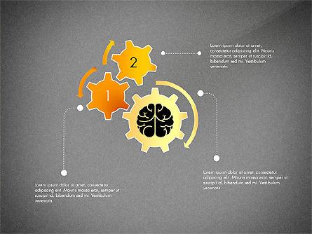 Smart and Airy Presentation with Shapes, Slide 16, 03122, Presentation Templates — PoweredTemplate.com