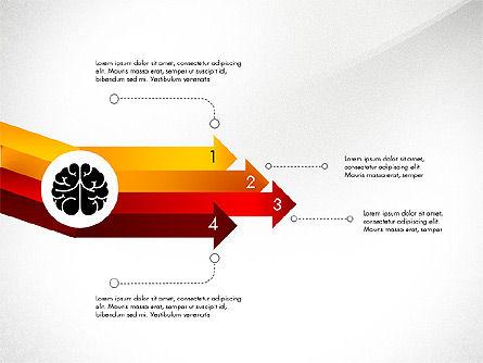 Smart and Airy Presentation with Shapes, Slide 5, 03122, Presentation Templates — PoweredTemplate.com