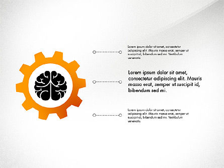 Smart and Airy Presentation with Shapes, Slide 7, 03122, Presentation Templates — PoweredTemplate.com