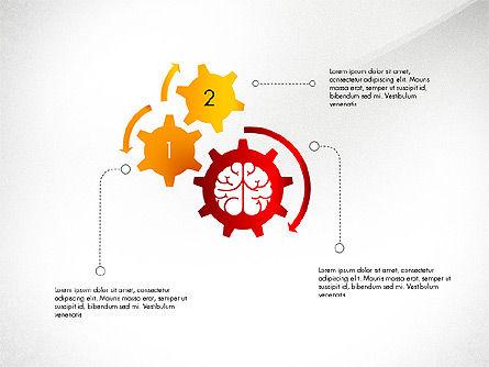 Smart and Airy Presentation with Shapes, Slide 8, 03122, Presentation Templates — PoweredTemplate.com