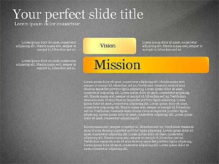 Vision Mission Goals Action Plan Diagram, Slide 11, 03124, Business Models — PoweredTemplate.com