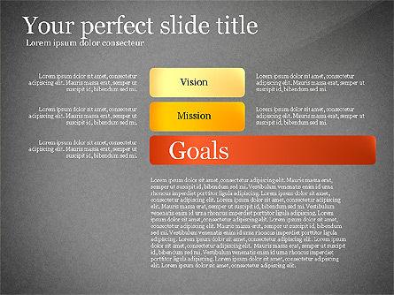 Vision Mission Goals Action Plan Diagram, Slide 13, 03124, Business Models — PoweredTemplate.com