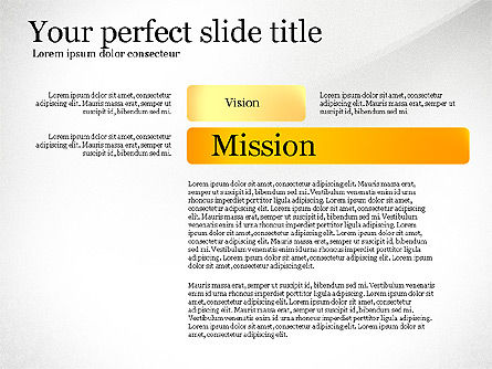 Vision Mission Goals Action Plan Diagram, Slide 3, 03124, Business Models — PoweredTemplate.com