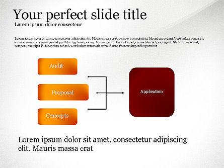 Vision Mission Goals Action Plan Diagram, Slide 4, 03124, Business Models — PoweredTemplate.com