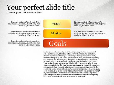 Vision Mission Goals Action Plan Diagram, Slide 5, 03124, Business Models — PoweredTemplate.com