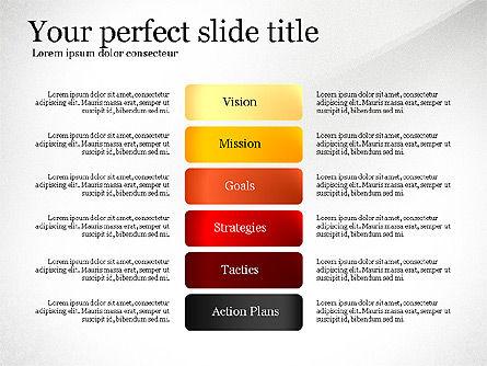Vision Mission Goals Action Plan Diagram, Slide 7, 03124, Business Models — PoweredTemplate.com
