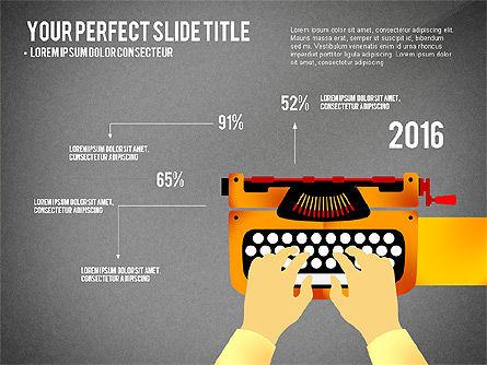 Growth Infographics Concept, Slide 10, 03126, Infographics — PoweredTemplate.com