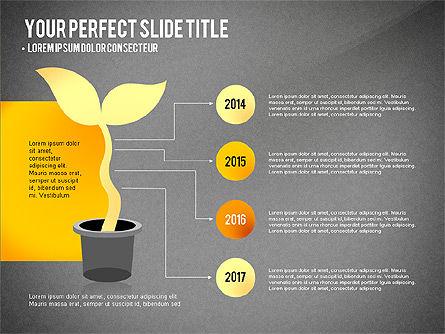 Growth Infographics Concept, Slide 11, 03126, Infographics — PoweredTemplate.com