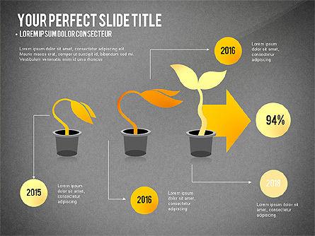 Growth Infographics Concept, Slide 12, 03126, Infographics — PoweredTemplate.com