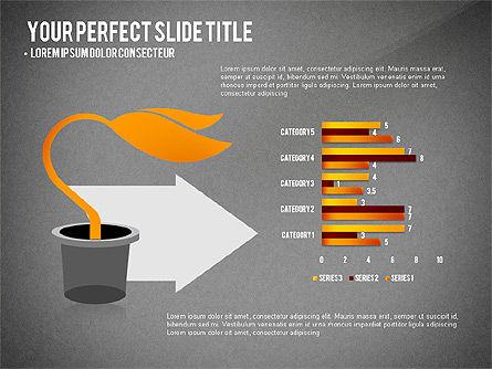 Growth Infographics Concept, Slide 13, 03126, Infographics — PoweredTemplate.com