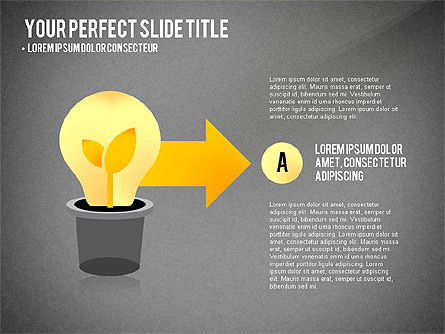 Growth Infographics Concept, Slide 14, 03126, Infographics — PoweredTemplate.com