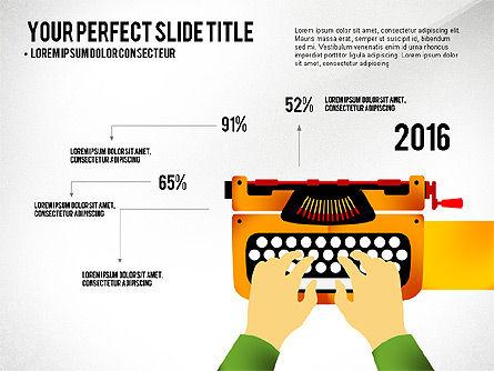 Growth Infographics Concept, Slide 2, 03126, Infographics — PoweredTemplate.com