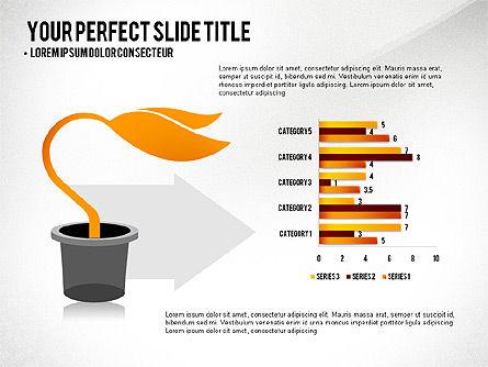 Growth Infographics Concept, Slide 5, 03126, Infographics — PoweredTemplate.com
