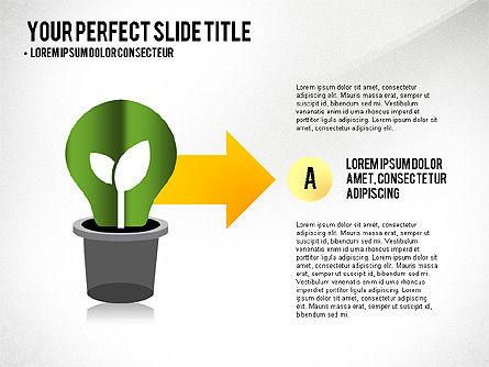Growth Infographics Concept, Slide 6, 03126, Infographics — PoweredTemplate.com