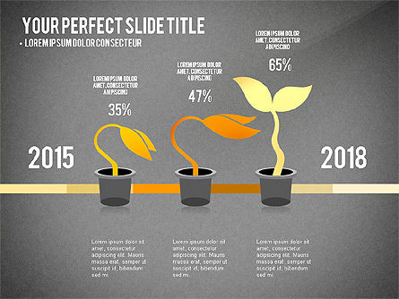 Growth Infographics Concept, Slide 9, 03126, Infographics — PoweredTemplate.com