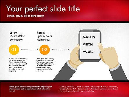 Comparison Presentation Template, Slide 2, 03127, Presentation Templates — PoweredTemplate.com