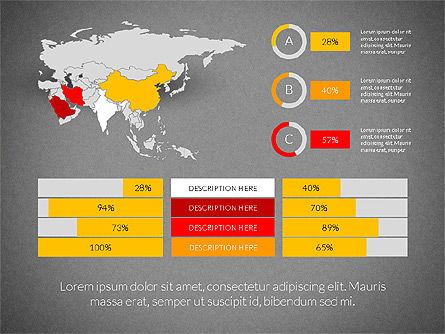 Countries Infographics, Slide 13, 03128, Infographics — PoweredTemplate.com