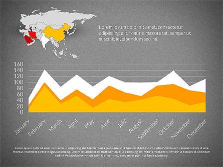 Countries Infographics, Slide 14, 03128, Infographics — PoweredTemplate.com