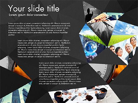 Presentation with Polygons, Slide 14, 03130, Presentation Templates — PoweredTemplate.com