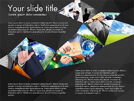 Presentation with Polygons, Slide 15, 03130, Presentation Templates — PoweredTemplate.com