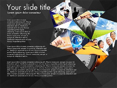 Presentation with Polygons, Slide 16, 03130, Presentation Templates — PoweredTemplate.com