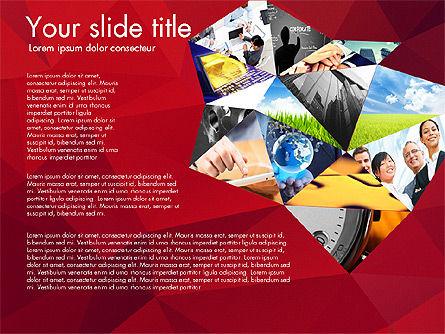 Presentation with Polygons, Slide 8, 03130, Presentation Templates — PoweredTemplate.com