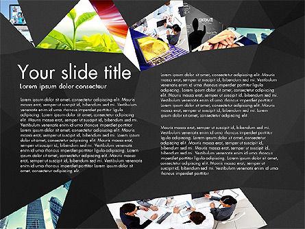 Presentation with Polygons, Slide 9, 03130, Presentation Templates — PoweredTemplate.com