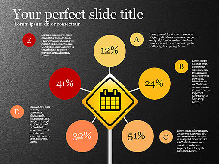 Infographics with Road Signs Slide 2