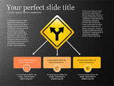 Infographics: Infographics with Road Signs #03131