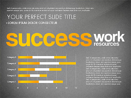 Success Plan Word Cloud Presentation Template, Slide 10, 03133, Presentation Templates — PoweredTemplate.com