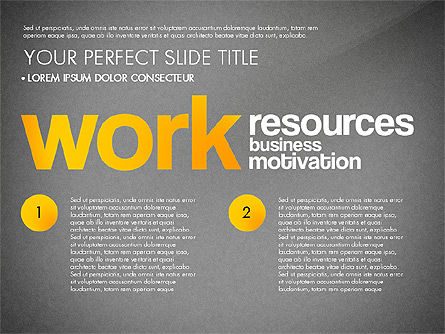 Success Plan Word Cloud Presentation Template, Slide 11, 03133, Presentation Templates — PoweredTemplate.com