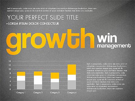 Success Plan Word Cloud Presentation Template, Slide 15, 03133, Presentation Templates — PoweredTemplate.com