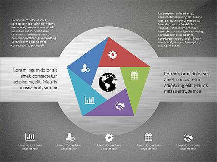 Round Diagram, Slide 10, 03134, Business Models — PoweredTemplate.com