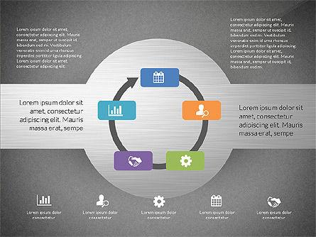 Round Diagram, Slide 12, 03134, Business Models — PoweredTemplate.com