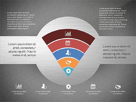 Round Diagram, Slide 15, 03134, Business Models — PoweredTemplate.com