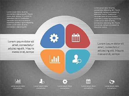 Round Diagram, Slide 16, 03134, Business Models — PoweredTemplate.com