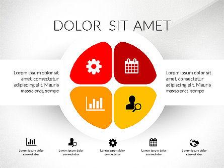 Round Diagram, Slide 8, 03134, Business Models — PoweredTemplate.com